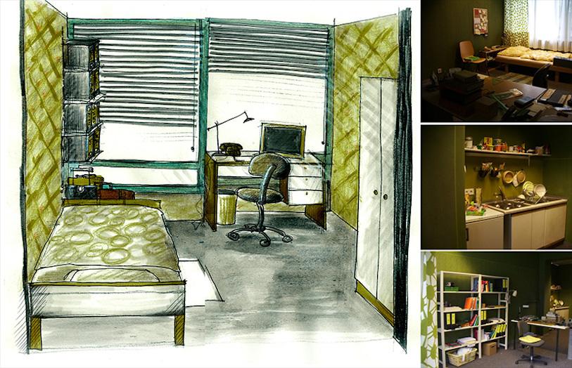 Cinzia Fossati | set design | film | Desperados on the block | Tomasz Rudzik